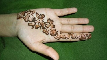 Latest Beautiful Valentines Day Mehndi Collection 2013 For Girls 01