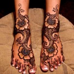 Latest Beautiful Valentines Day Mehndi Collection 2013 For Girls 05