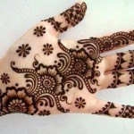 Latest Beautiful Valentines Day Mehndi Collection 2013 For Girls 06