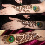 Latest Beautiful Valentines Day Mehndi Collection 2013 For Girls 07