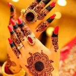 Latest Beautiful Valentines Day Mehndi Collection 2013 For Girls 08