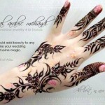 Latest Beautiful Valentines Day Mehndi Collection 2013 For Girls 09