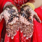 Latest Beautiful Valentines Day Mehndi Collection 2013 For Girls 10