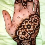 Bridal Mehndi Flower Hand Mehndi Designs
