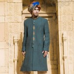 Latest Groom Wear Winter Collection 2013-2014 By Naushemian (3)