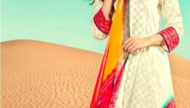 Latest Lawn Collection 2013-2014 For Women By Sania Maskatiya