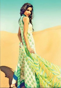 Latest Lawn Collection 2013-2014 For Women By Sania Maskatiya (4)