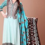 Moon Textiles Latest Spring Summer Lawn Collection 2013 For Women 001