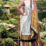 Moon Textiles Latest Spring Summer Lawn Collection 2013 For Women 002
