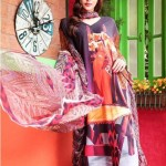 Moon Textiles Latest Spring Summer Lawn Collection 2013 For Women 007