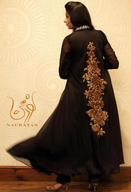 Nauratan Latest Semi Formal Dresses 2013 For Women 001