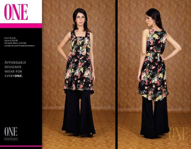 One By Ensemble Spring Summer Dresses 2013 For Women 004