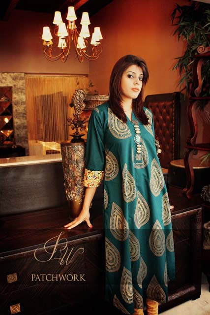 Patch Work Spring Summer Dresses 2013 for Women 005