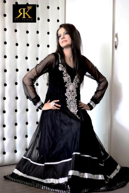 RK Munir Latest Party Wear Dress Collection 2013-14 For Ladies (3)