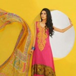 Shirin Hassan Block Prints Lawn Formal Dresses Collection 2013 For girls & Women 002