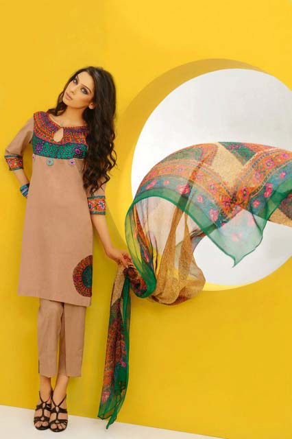 Shirin Hassan Block Prints Lawn Formal Dresses Collection 2013 For girls & Women 005