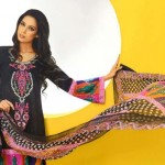 Shirin Hassan Block Prints Lawn Formal Dresses Collection 2013 For girls & Women 006