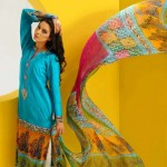 Shirin Hassan Block Prints Lawn Formal Dresses Collection 2013 For girls & Women 008