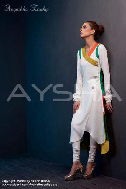 Stylish Outfits Dresses Collection 2013 For girls Women By Aysha Anees 05
