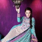 Warda Designer Latest Spring Summer Lawn Women Dresses Collection 2013-2014 (2)