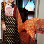 Warda Designer Latest Spring Summer Lawn Women Dresses Collection 2013-2014 (3)