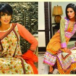 Warda Designer Latest Spring Summer Lawn Women Dresses Collection 2013-2014 (5)