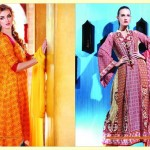 Warda Designer Latest Spring Summer Lawn Women Dresses Collection 2013-2014 (7)