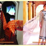 Warda Designer Latest Spring Summer Lawn Women Dresses Collection 2013-2014 (9)