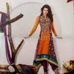Zobi Fabrics Latest Party Wear Outfits Collection 2013 For girls Women 0012