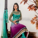 Zobi Fabrics Latest Party Wear Outfits Collection 2013 For girls Women 0017