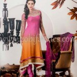 Zobi Fabrics Latest Party Wear Outfits Collection 2013 For girls Women 005
