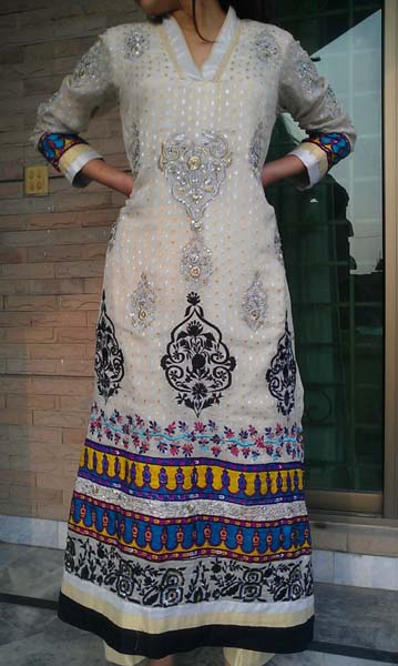 latest formal & semi-formals collection 2013 For Women By Fatima n Sara 001