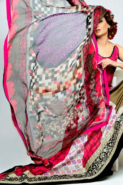 Aeisha Varsey Permium Lawn Prints Collection 2013 001