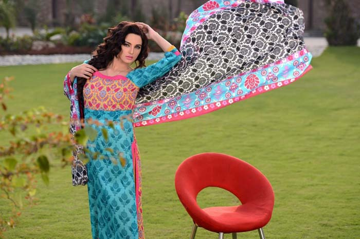 Charizma Latest Summer Lawn Dresses Collection 2013 For women (2)
