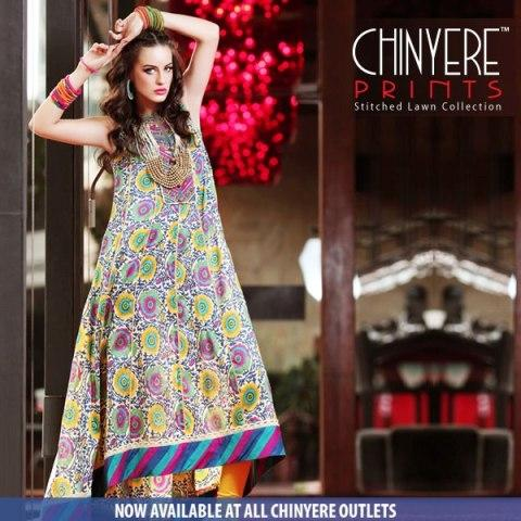 Chinyere Spring Summer Lawn Prints 2013 For Women 001