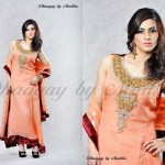 Dhaagay Latest Party Wear Collection 2013 for women 002