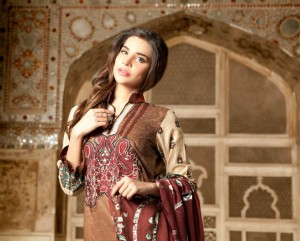 Firdous Latest Spring Summer Lawn 2013-2014 Collection Vol-2 For Women (2)