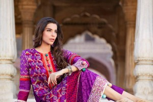 Firdous Latest Spring Summer Lawn 2013-2014 Collection Vol-2 For Women (7)
