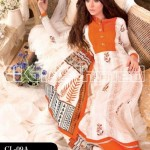 Gul Ahmed Latest Embroidered Summer Lawn Dresses Collection 2013-14 for Women (2)