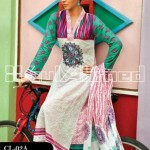 Gul Ahmed Latest Embroidered Summer Lawn Dresses Collection 2013-14 for Women (4)