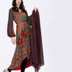 Khaadi Lawn prints 2013 Floral Collection for women 02