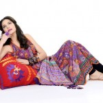 Khaadi Lawn prints 2013 Floral Collection for women 04
