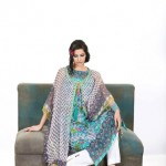 Khaadi Lawn prints 2013 Floral Collection for women 06