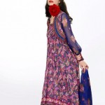 Khaadi Lawn prints 2013 Floral Collection for women 07