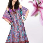 Khaadi Lawn prints 2013 Floral Collection for women 09
