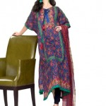 Khaadi Lawn prints 2013 Floral Collection for women 10
