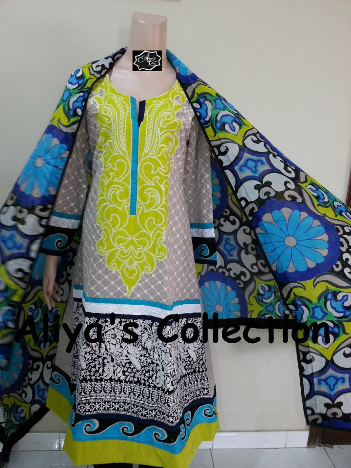 Latest Aliya's Dresses Collection 2013 0011
