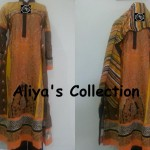 Latest Aliya's Dresses Collection 2013 002
