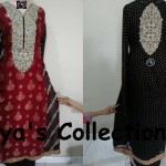 Latest Aliya's Dresses Collection 2013 007