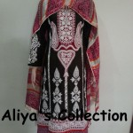 Latest Aliya's Dresses Collection 2013 009